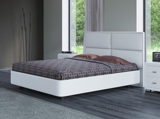 Белая кровать Rocky 2