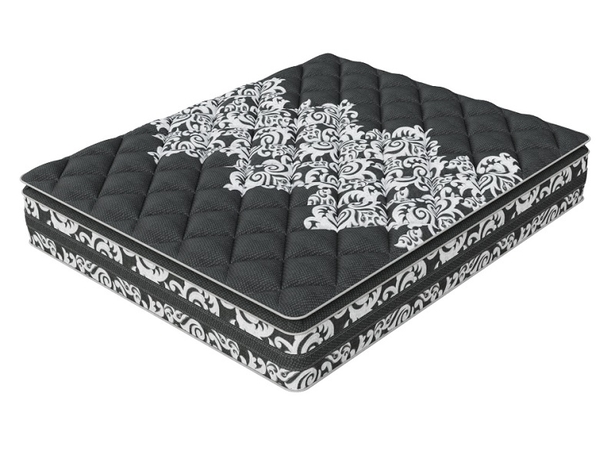 Матрас Verda Support Pillow Top, чехол Black Orchid