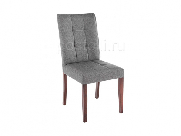 Стул Madina dark walnut/fabric grey (Арт. 11028)