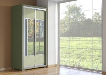 Шкаф-купе 2-х дверный Orma Soft зеркальный